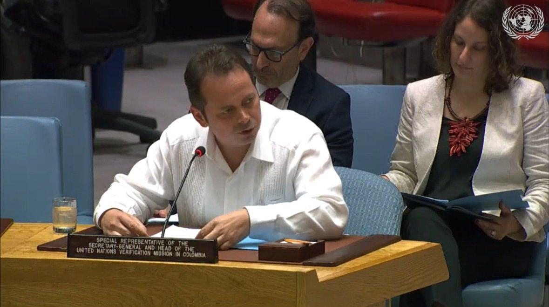 """Evaluación del proceso de paz es """"disímil"""": ONU en Colombia"""