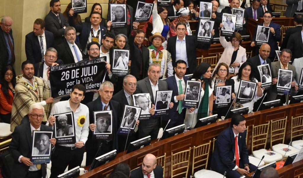 Oposición estrena espacio durante instalación del Congreso