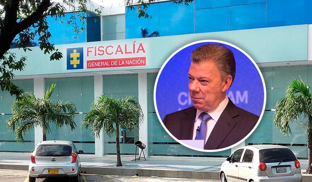 Fiscalía entregó pruebas a la Cámara contra Santos