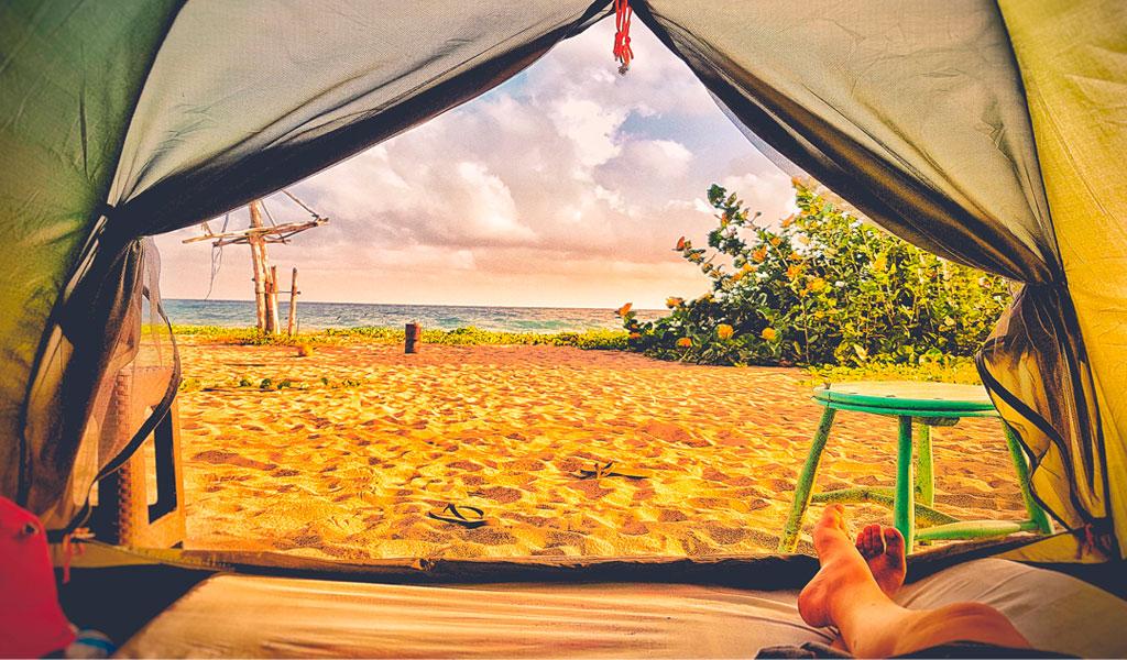 Cómo y dónde acampar en el Parque Tayrona