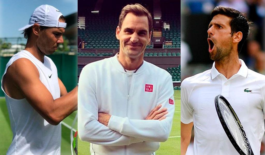 Wimbledon, Federer, Nadal, Djokovic