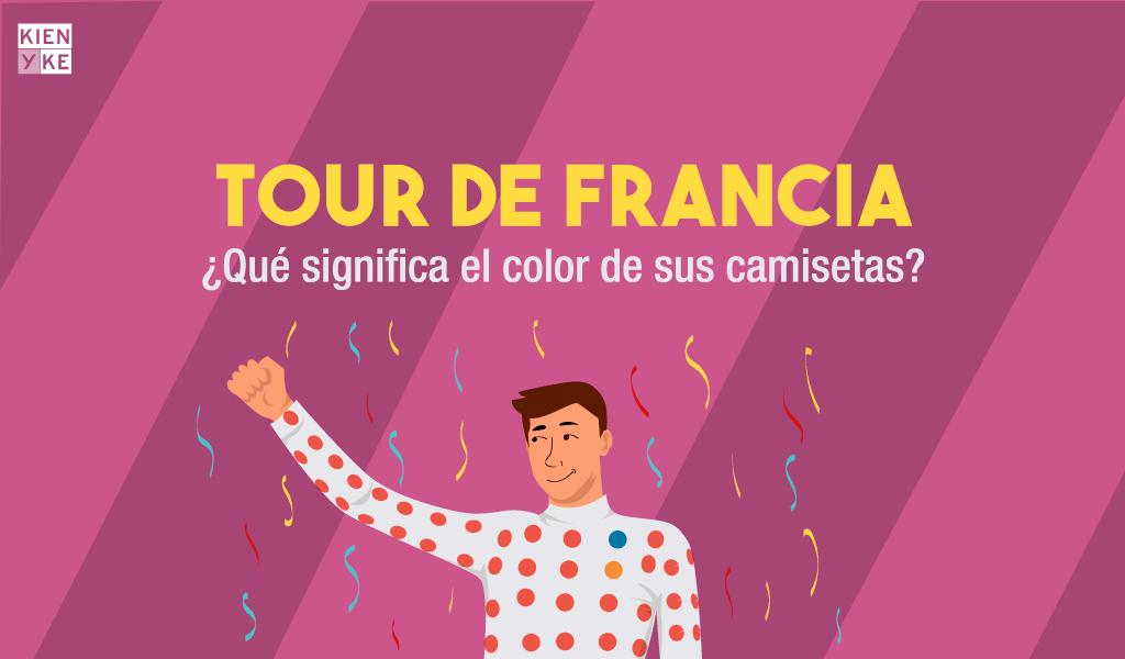 ¿Qué significa el color de las camisetas del Tour de Francia?