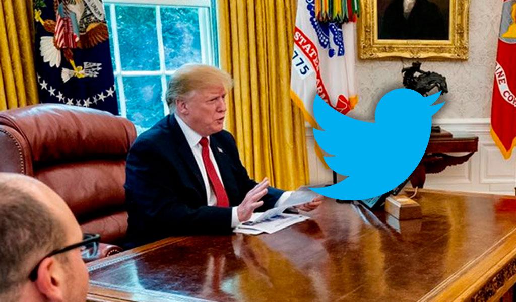 Twitter se pronuncia a favor de Trump