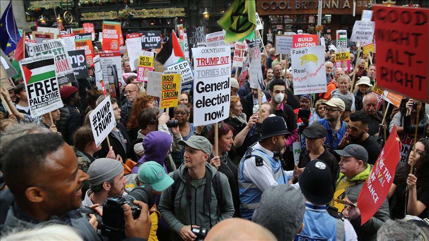 Británicos marcharon exigiendo elecciones generales