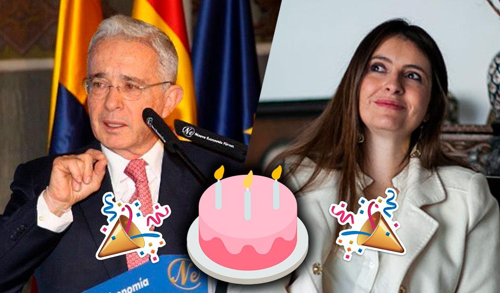 Ellos le desearon feliz cumpleaños a Álvaro Uribe