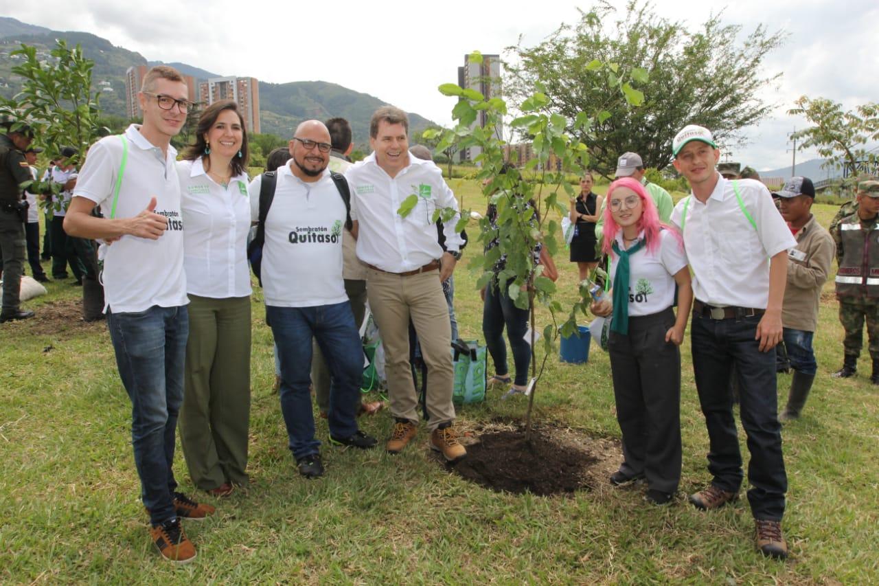 Valle de Aburrá cumplió meta de 1 millón de árboles sembrados