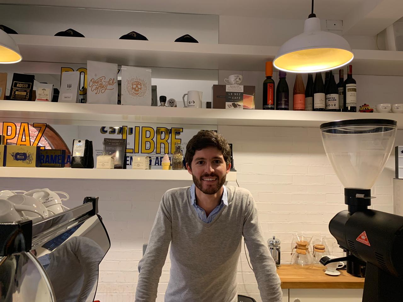 Sebastián Villamizar Café Libertario