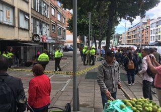 Balacera en el norte de Bogotá