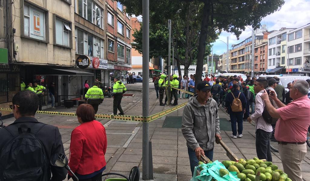 Balacera, norte, Chapinero, ladrones, policía