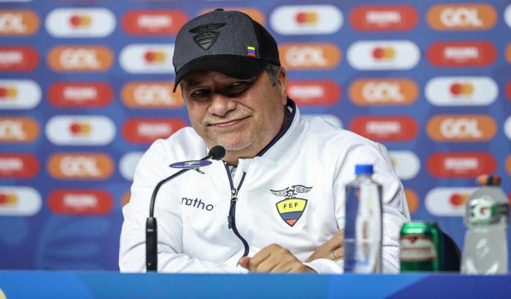 'Bolillo' Gómez se despide de la Selección de Ecuador