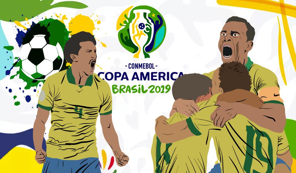 Brasil se proclama rey de América