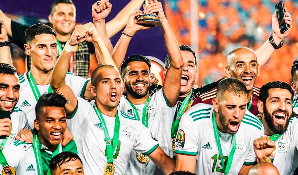 Argelia campeón de la Copa de África por segunda vez