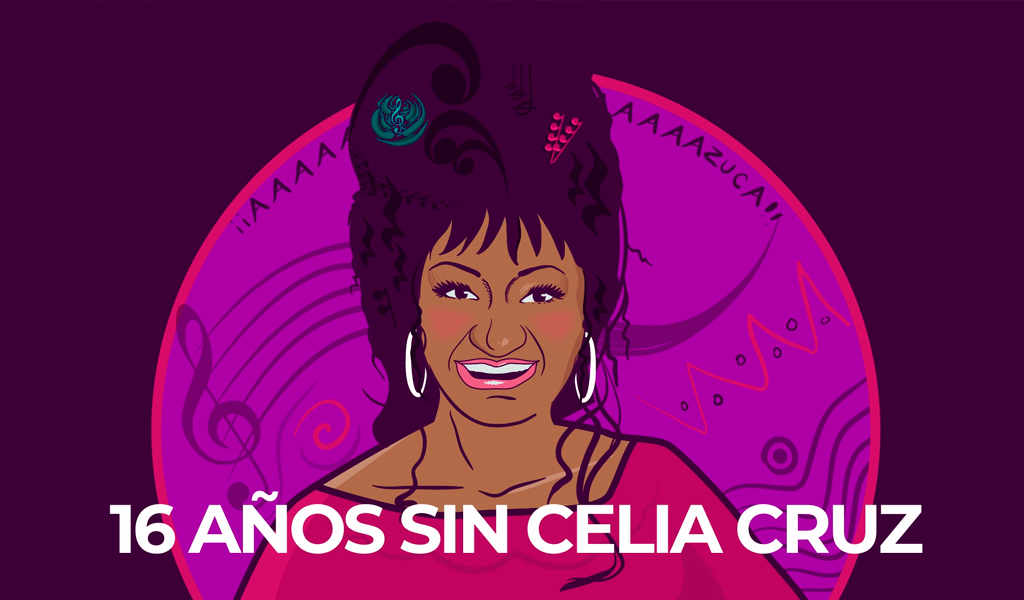 16 años sin Celia Cruz
