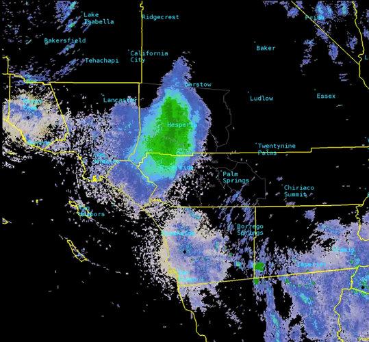 Meteorólogos rastrean nubes de insectos