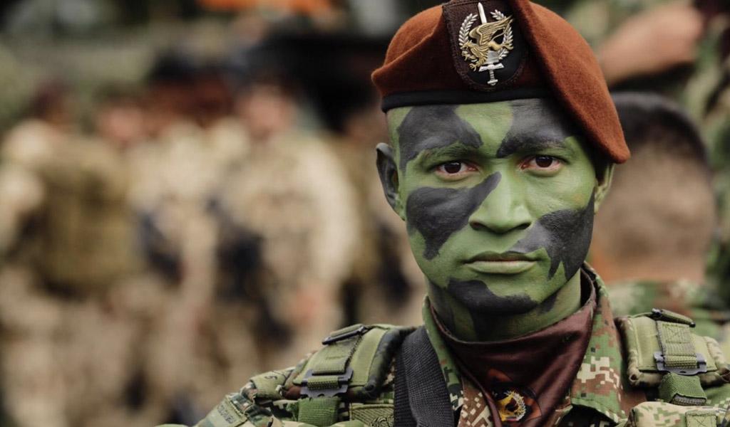 El desfile militar del Día de Independencia