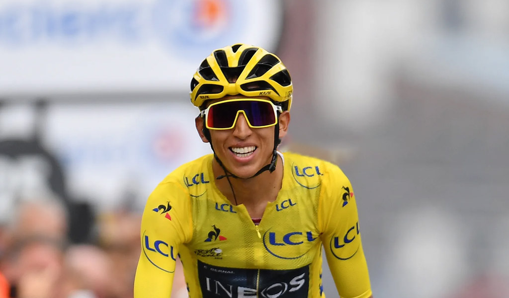 Egan: primer colombiano que gana el Tour de Francia