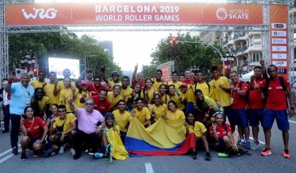 Colombia, campeona en los World Roller Games