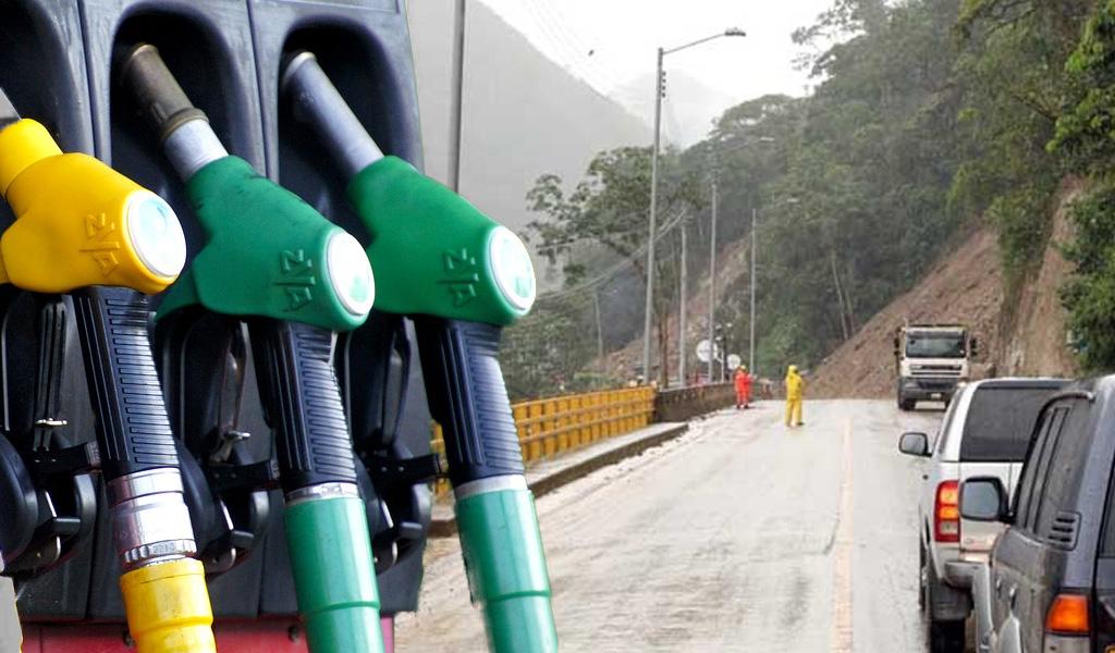 Baja de gasolina en el Meta por crisis en vía al Llano