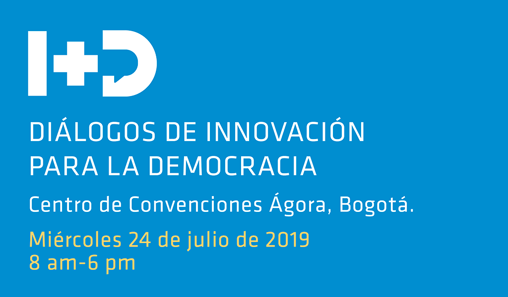 Aún puede participar en Foro de Innovación y Democracia
