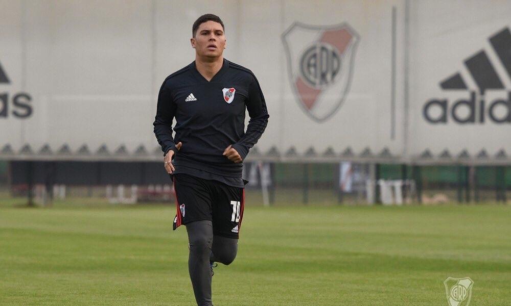 Quintero figura en el 11 ideal de Argentina