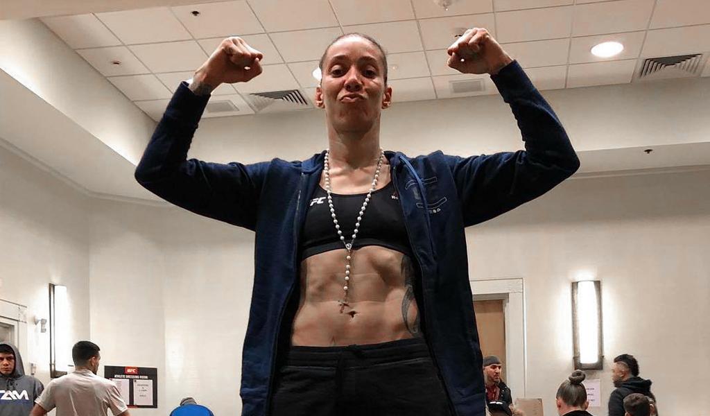 El nocaut de la 'dama de hierro' en UFC