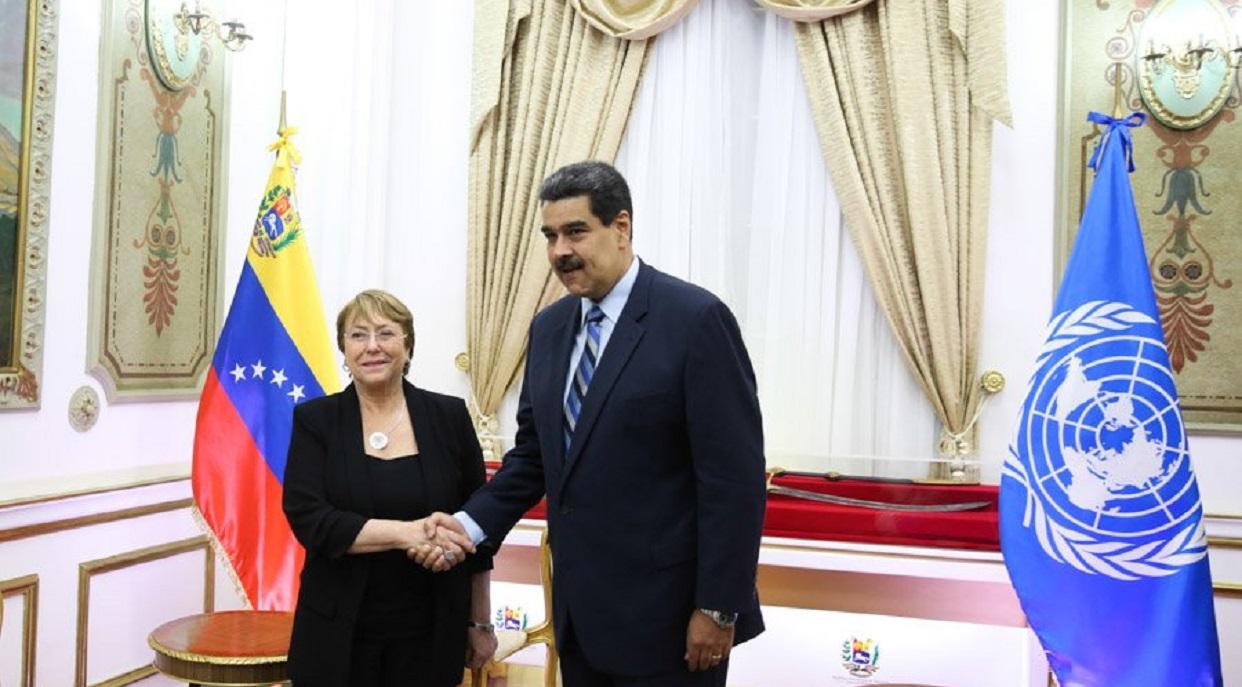 A Maduro no le gustó el informe de Bachelet: pide corregir