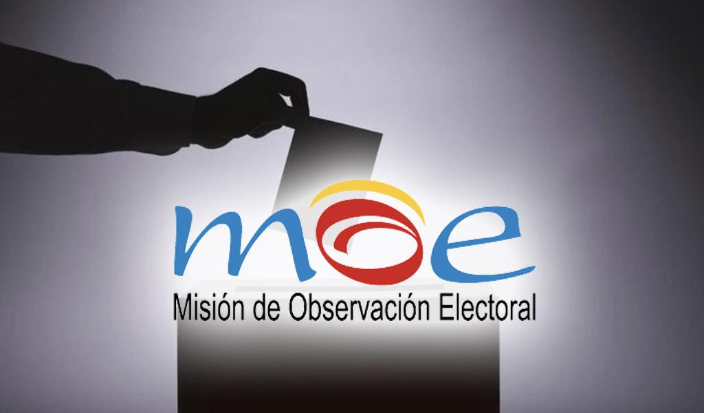 MOE advierte sobre alianzas de políticos y grupos ilegales