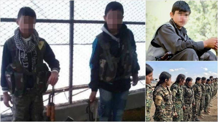 Grupo terrorista PYD / PKK reclutó 313 niños: ONU