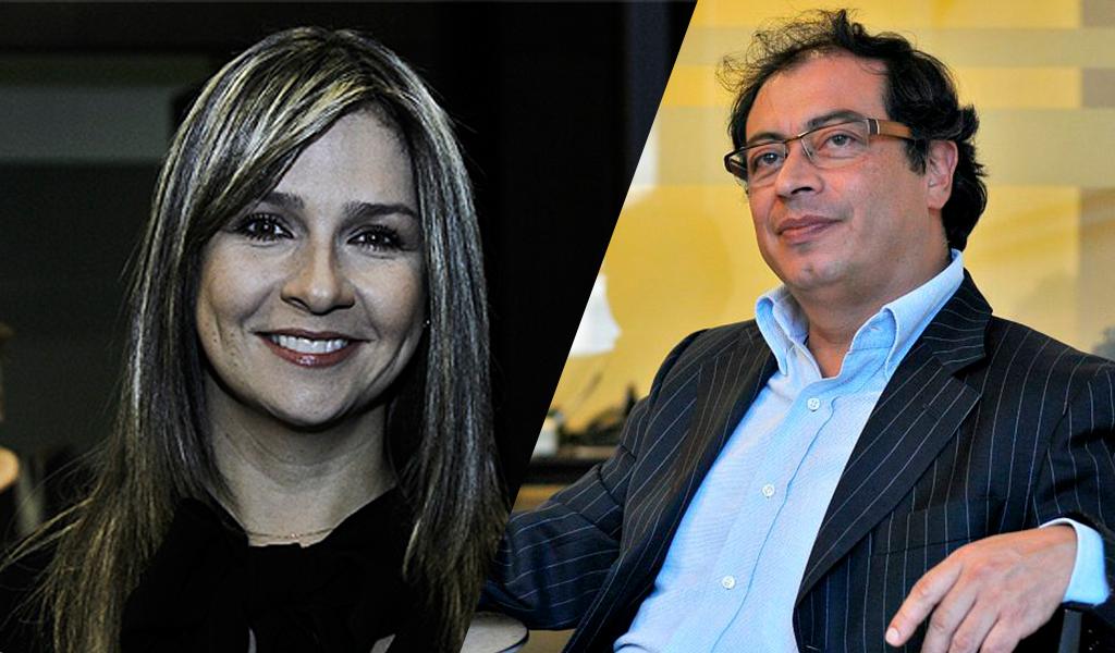 El reclamo de Vicky Dávila a Gustavo Petro