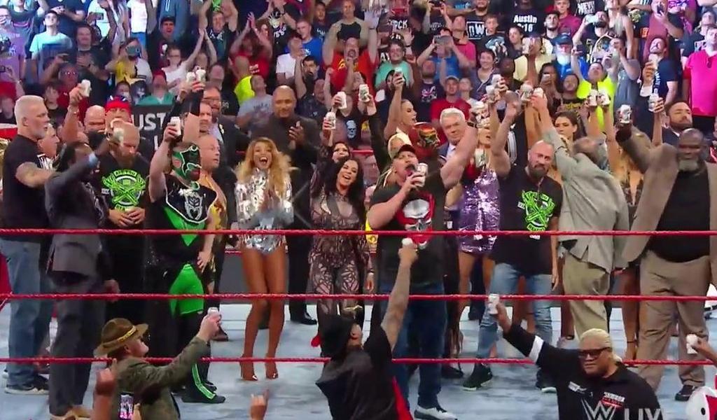 Lo que dejó Raw Reunion en la WWE