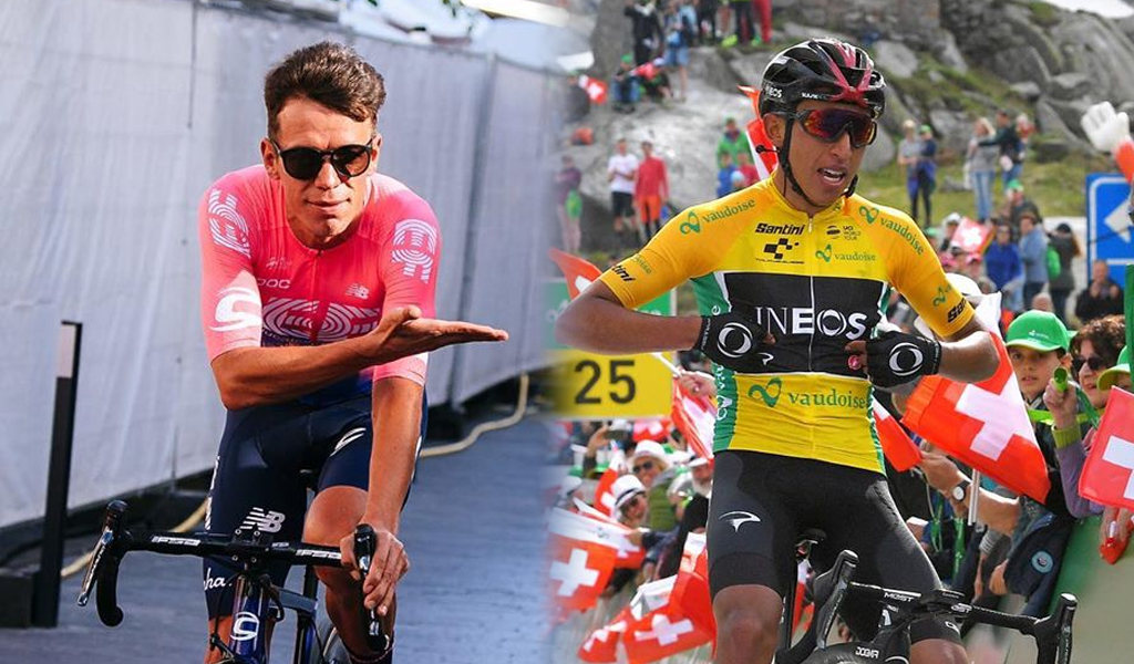 Bernal y Urán ascienden en la general del Tour