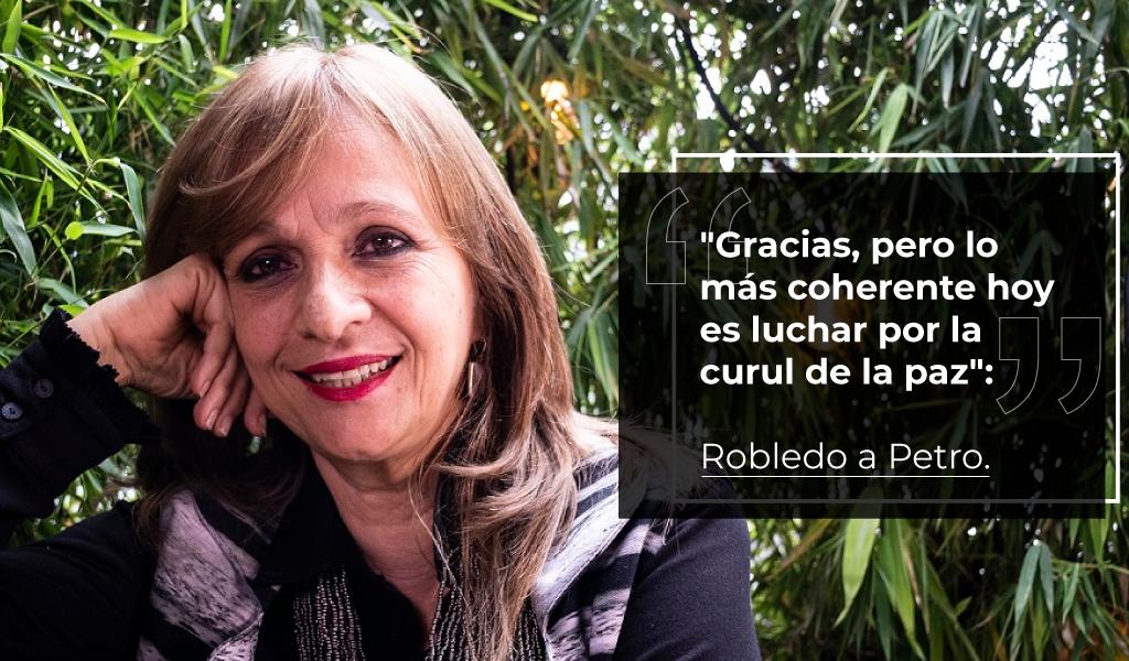 Ángela María Robledo rechaza propuesta de Petro