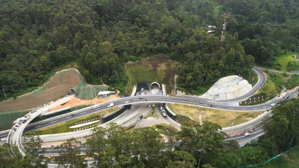 Túnel de Oriente en Antioquia será inaugurado en agosto