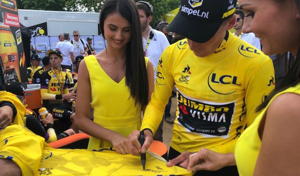 Jumbo Visma ganador de la etapa 2 del Tour de Francia