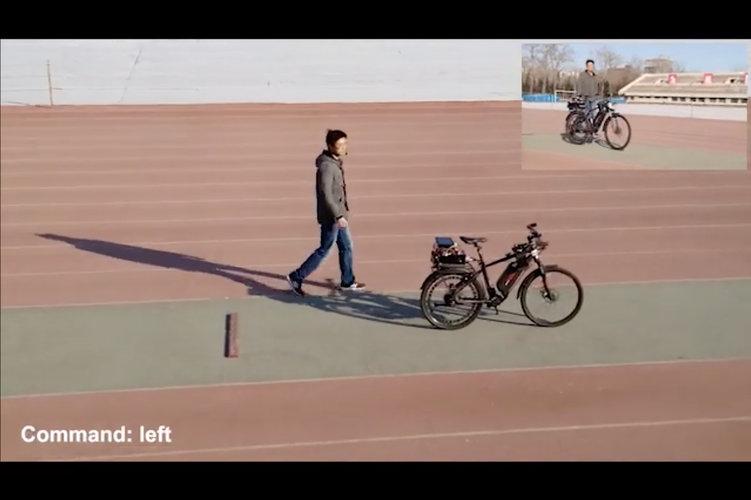 Los chinos apuestan a la bicicleta autónoma