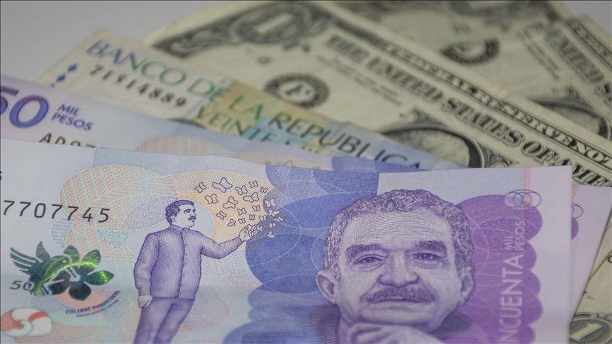 Derrumbe del peso argentino arrastró el peso colombiano