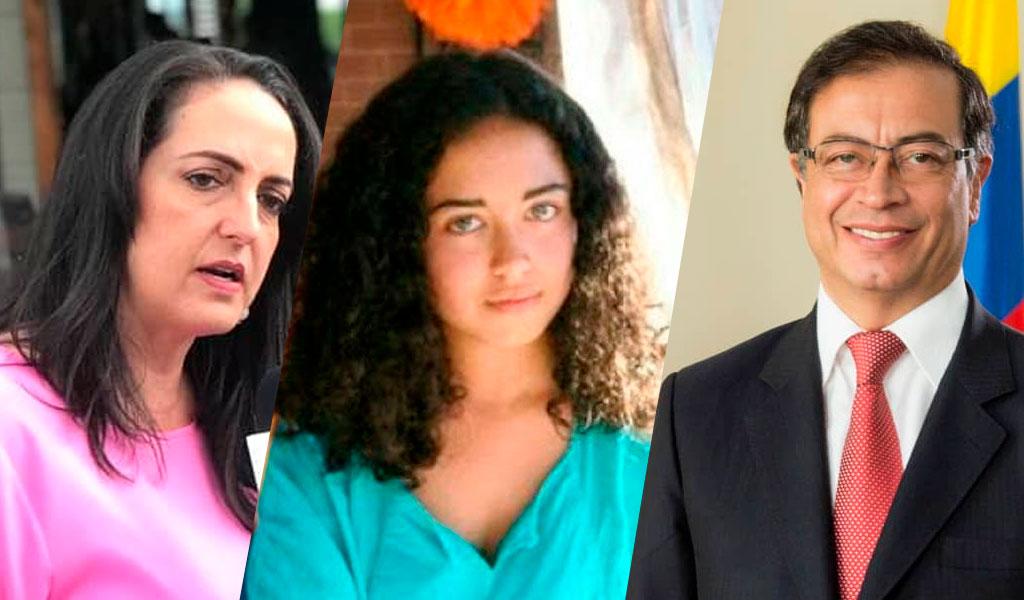 Hija de Petro responde a Cabal y denuncia mensajes vulgares