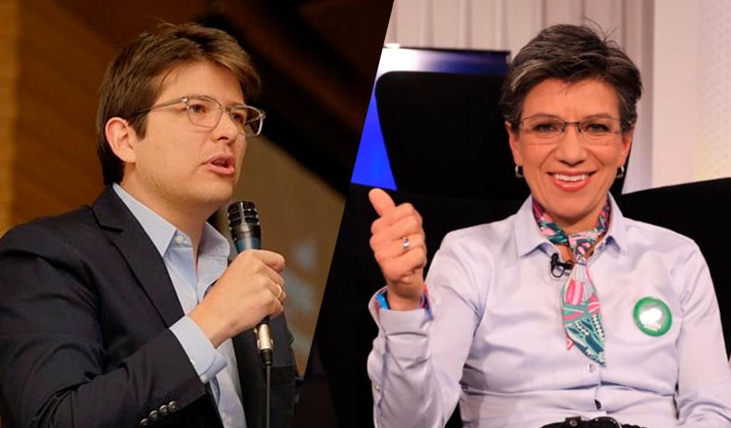 El nuevo rifirrafe entre Claudia López y Miguel Uribe
