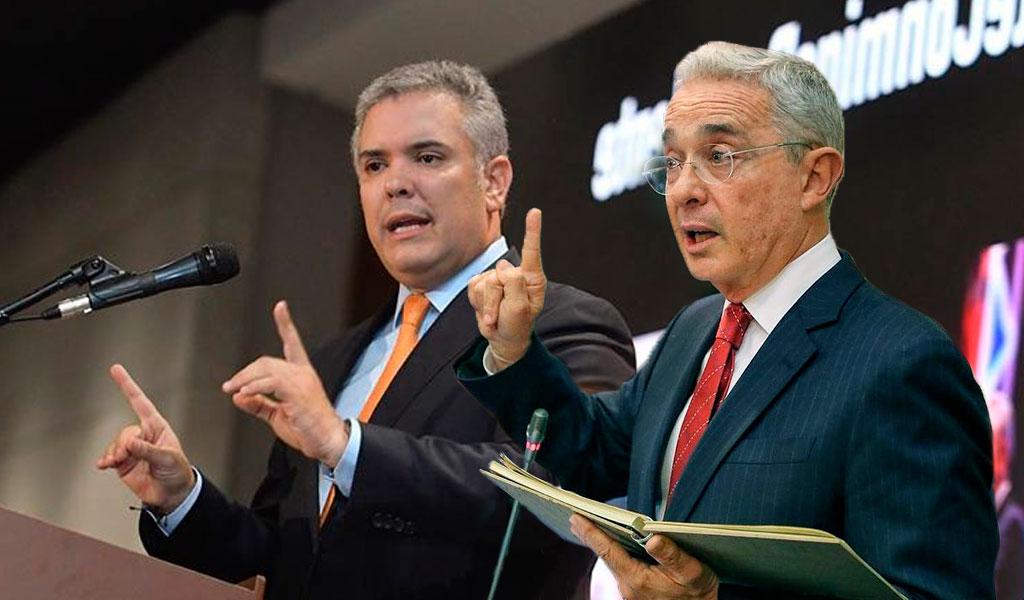 """""""Soy presidente de Colombia y senador"""": Uribe"""