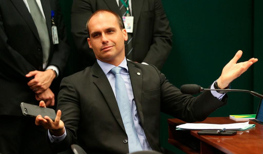"""EE.UU. le dio el """"agrément"""" a Eduardo Bolsonaro"""