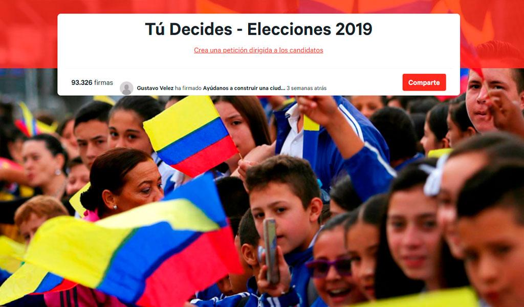 Ciudadanos podrán hacer sus peticiones a los candidatos