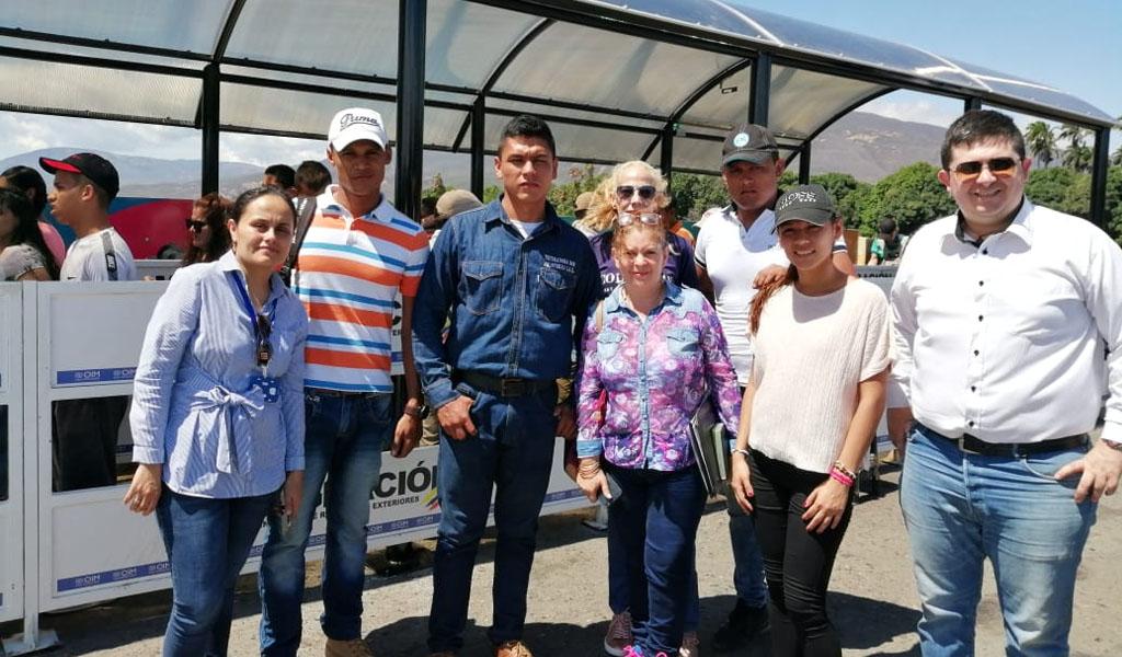 Cetina Sánchez fue liberado por el Ejército venezolano