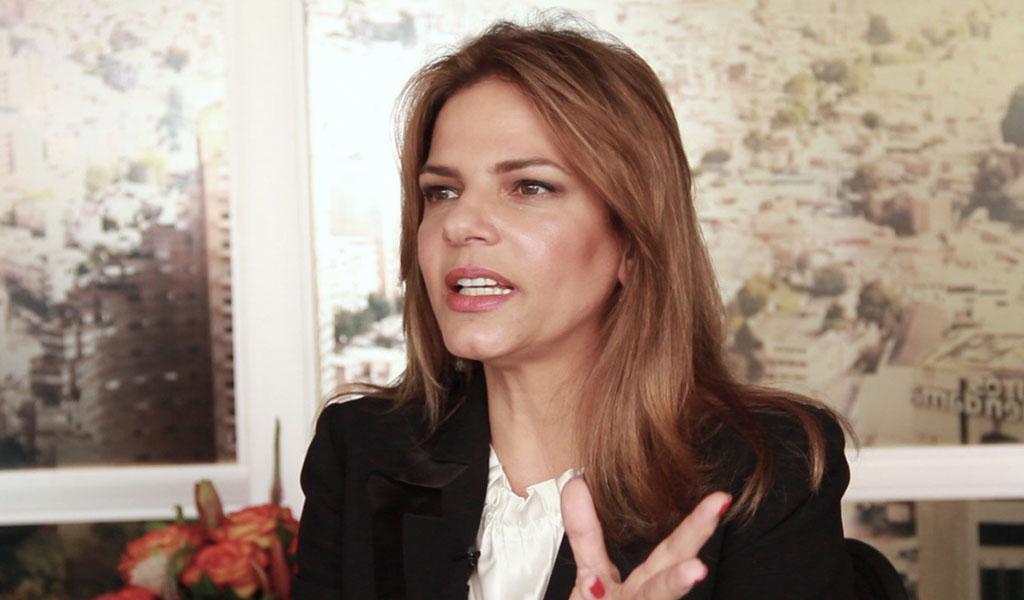 """Presidenta de Procolombia tiene el """"Wow factor"""""""
