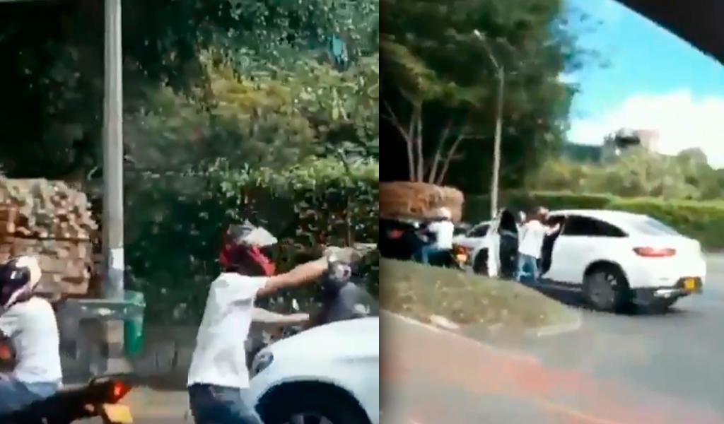 Futbolista fue víctima de fleteo en Medellín