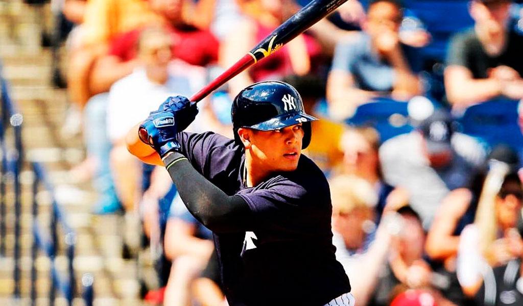 Gio Urshela inmortalizado en la MLB