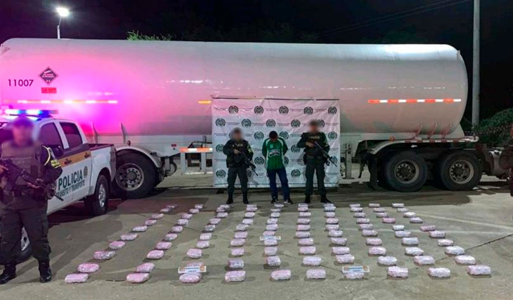Incautan 53 kilos de marihuana en Córdoba