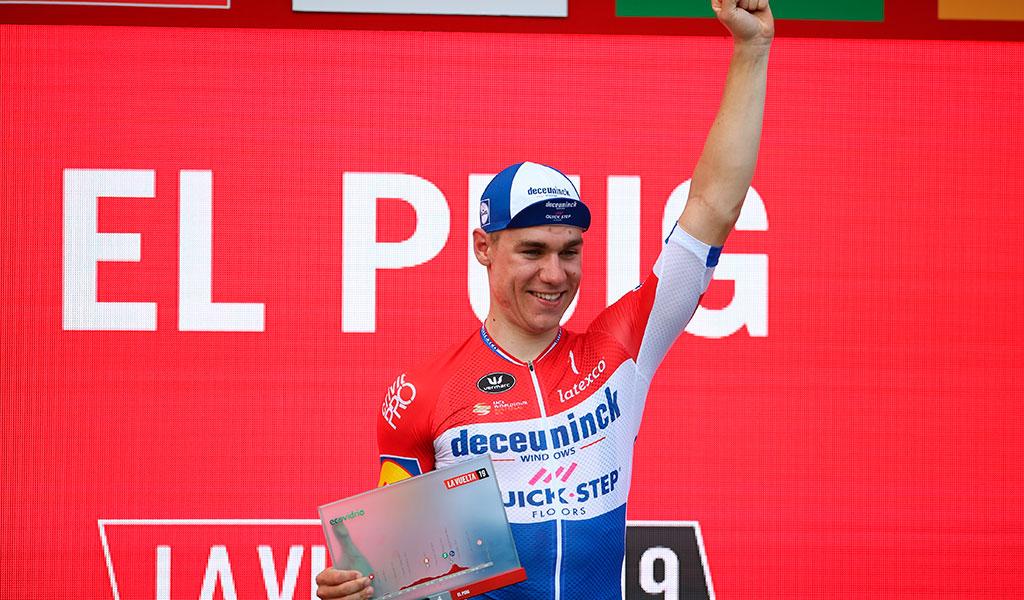 Jakobsen ganador de la etapa 4 de la Vuelta a España