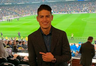 James, entre sumar minutos y el mejor gol en Alemania