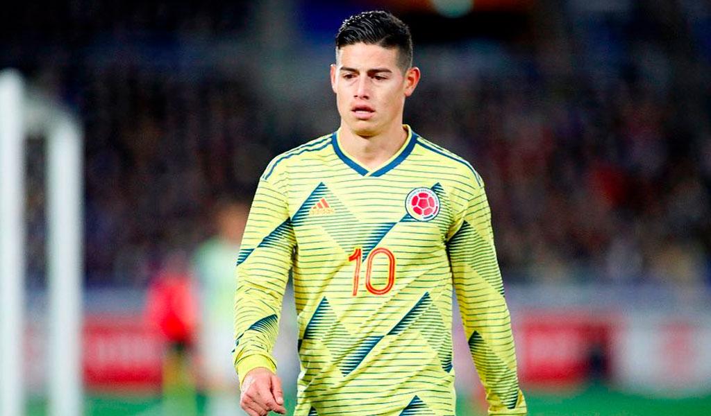 El tiempo de recuperación de James Rodríguez
