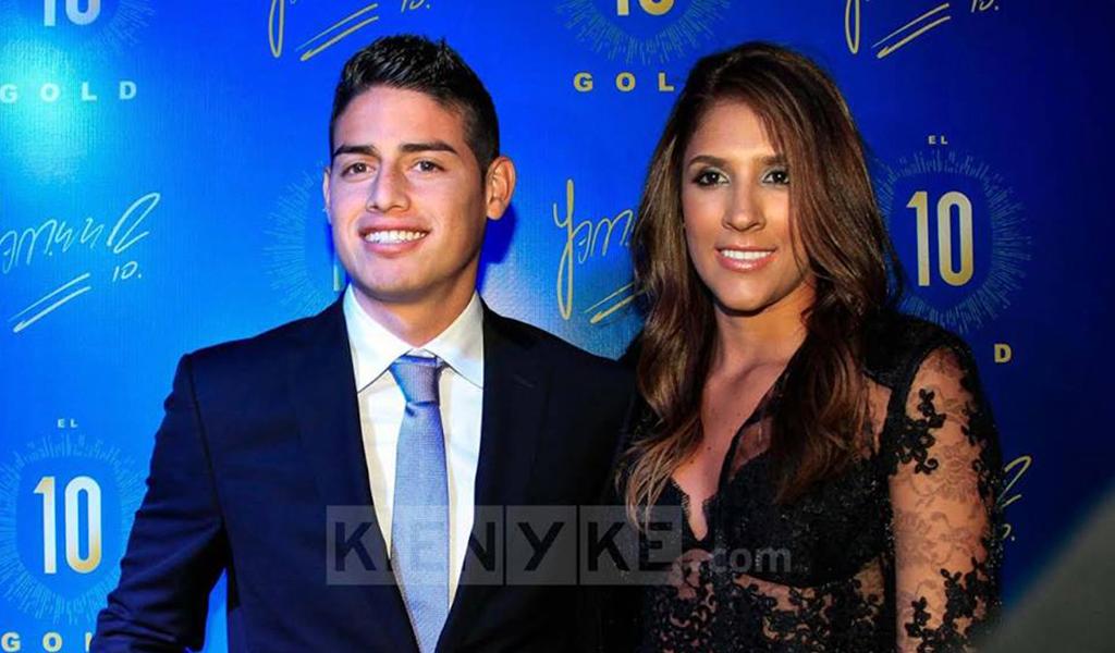 ¿James Rodríguez consuela a Daniela Ospina?